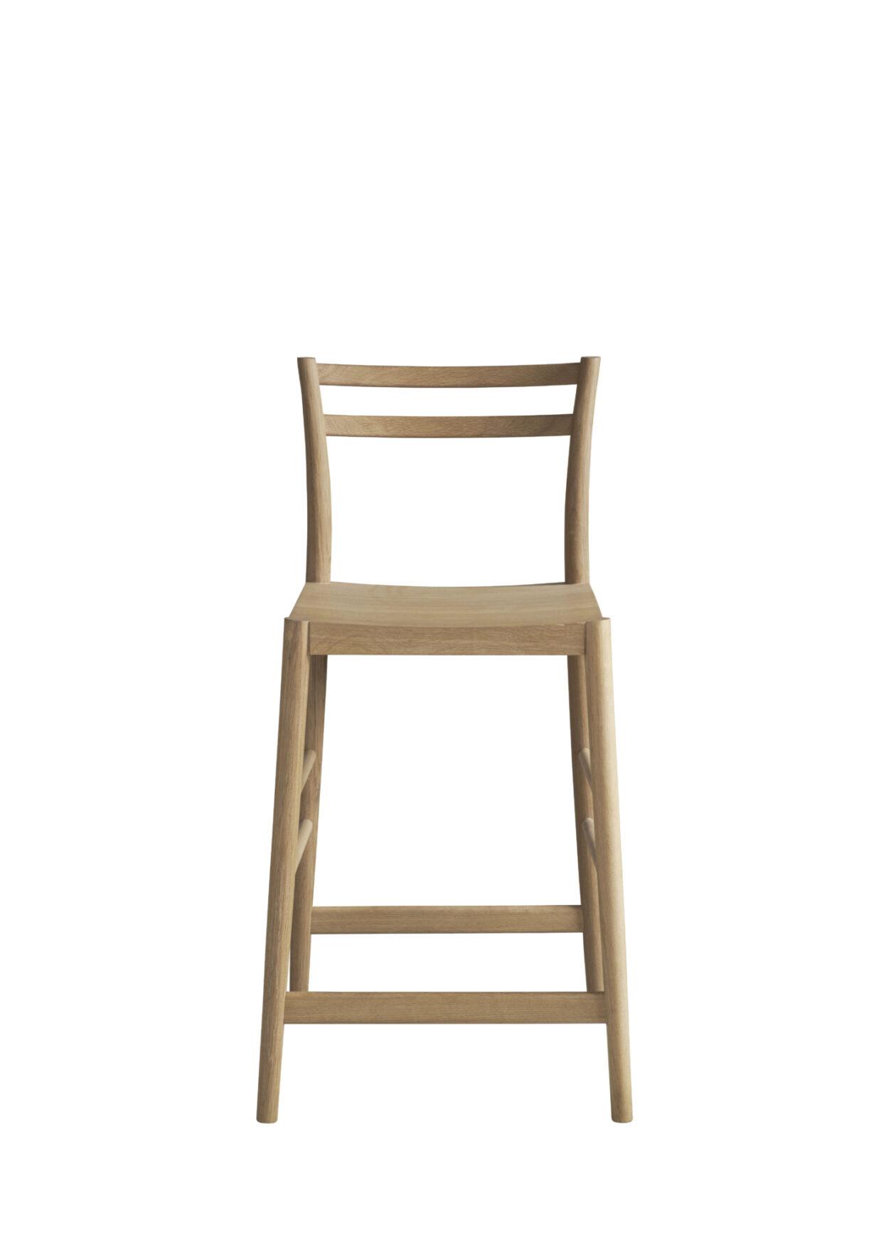 Avery bar stool oak LR CO 224 newcrop