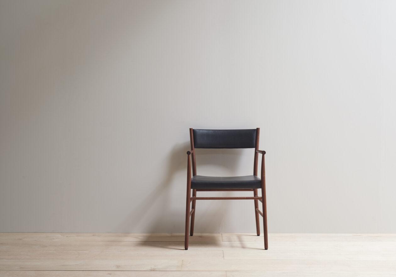 Pinch Avery armchair upholstered walnut 2021 121 LR