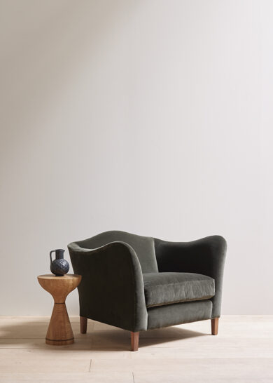 Moreau armchair thumb green